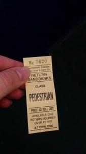 Pedestrian Ferry Ticket from Sandbanks to Studland beach